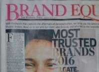 Most trusted Brand of 2016