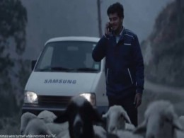 samsung customer service ad
