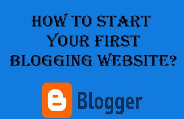 How to start your First Blogging Website?