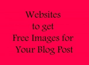 Websites to get Free Images for Your Blog Post