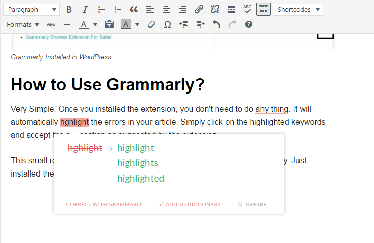 Grammarly error check online