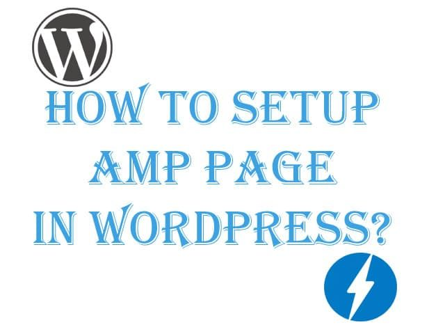 How to Setup AMP Page in WordPress
