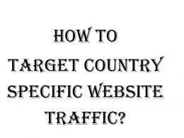 How to target country specific website traffic