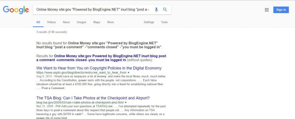 Google Search for getting list of backlinks website