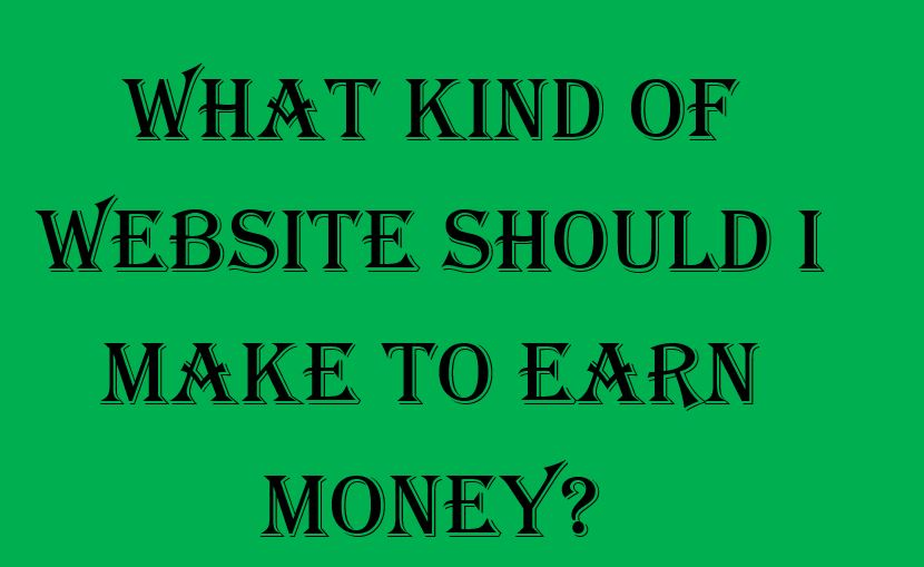 how to get make money from website