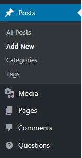 Add new Categories to WordPress