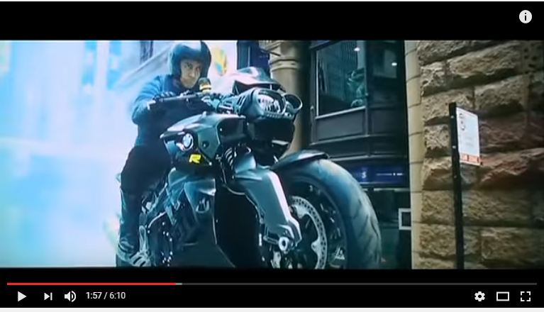 BMW Bike in Dhoom3