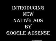 Introducing New Native ads by Google AdSense