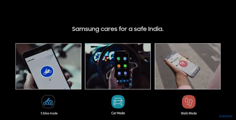 Samsung Cares for a safe India