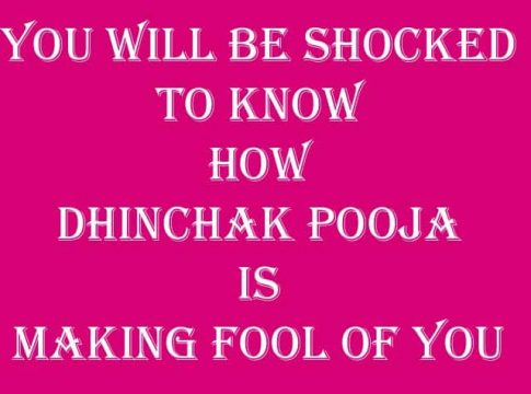 You will be shocked to know how Dhinchak Pooja is making fool of you copy