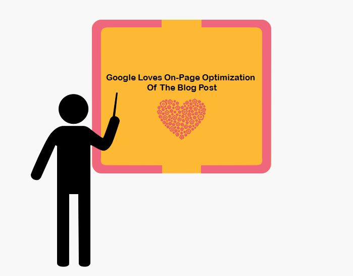 Google Loves On Page Optimization