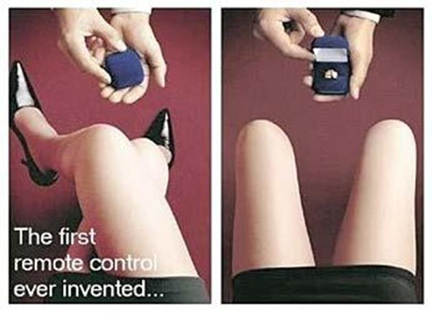 First Remote Control Ever Invented Women Objectifying Advertisement