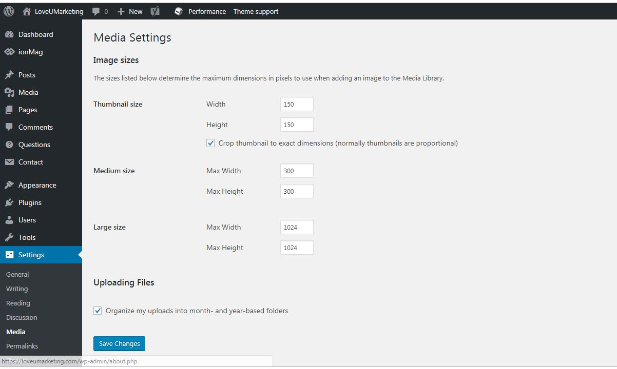 Organize Your Uploaded Media on WordPress Blog