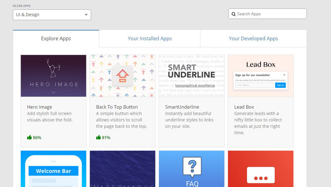 Cloudflare Apps