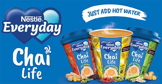 Nestle India Launch EVERYDAY Chai Life
