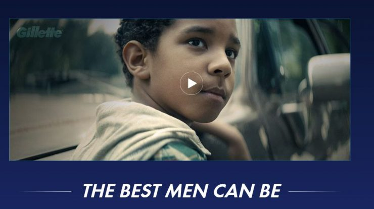 The Best Men Can Be advertisement by Gillette