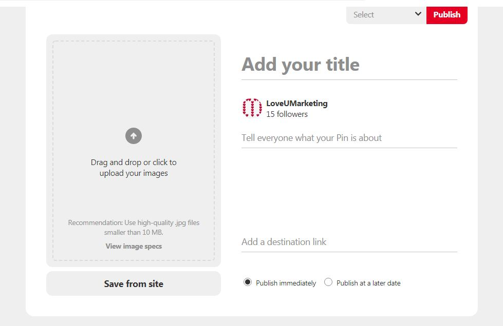 Title and Descriptions For Pinterest Pin It Items