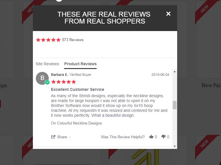 Reviews From Real Customers