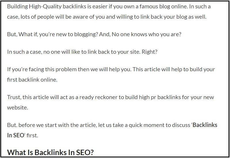 Write a blog post in a Short Paragraph