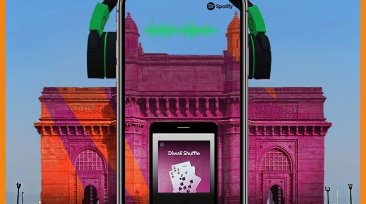 SnapChat Spotify and Gateway Of India