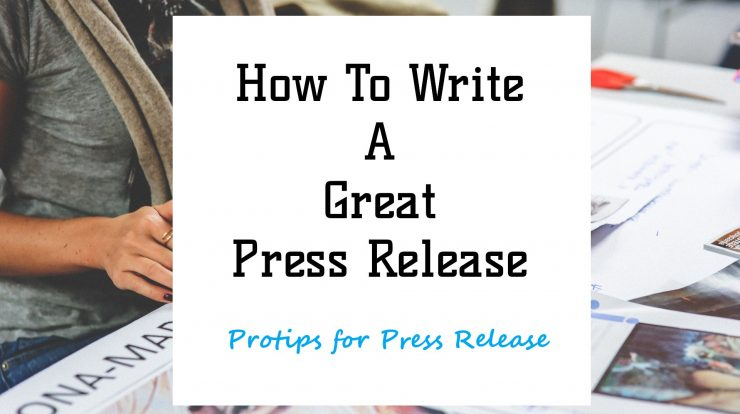 how to write a great press release