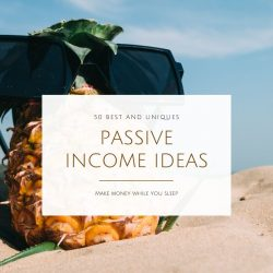 Passive Income Ideas that make while you sleep