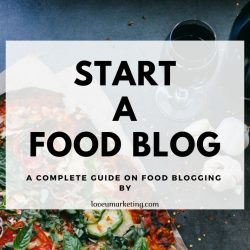 Start a Food Blogging site