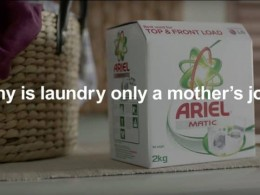 Why is laundry only a mothers job?